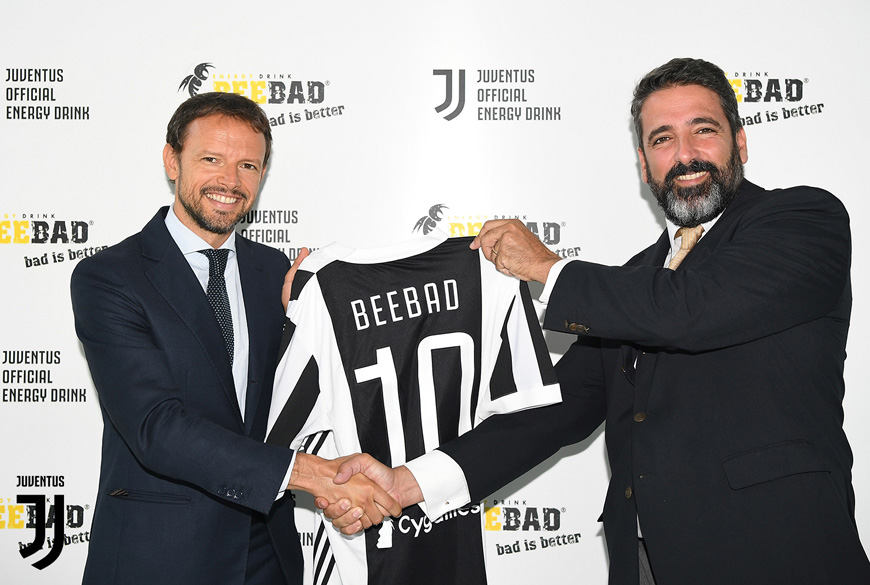 BEEBAD is one of the Official Juventus Partners